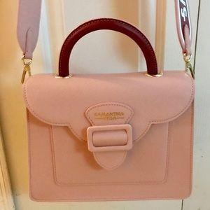 Samantha Thavasa Vega Pink crossbody L bag ~ Japan